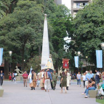 208° Aniversario de la primera enarbolacion del Pabellón Nacional Argentino