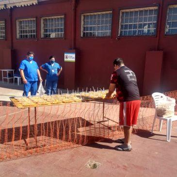 Preparación, elaboración  y distribución de racionamiento – 16 y 17 may