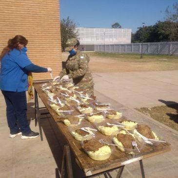Preparación, elaboración  y distribución de racionamiento – 19 may