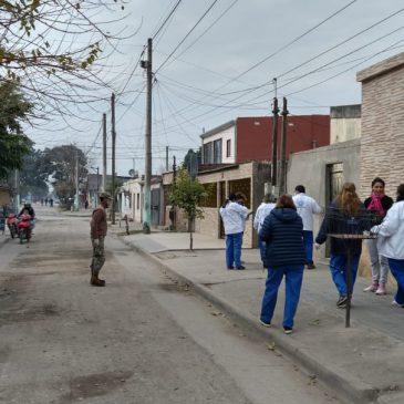 Campaña Testeos Febriles en Barrios Vulnerables – 15 Jul