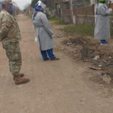 Campaña Testeos Febriles en Barrios Vulnerables – 21 Jul