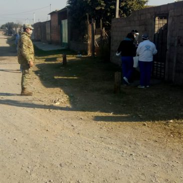 Campaña Testeos Febriles en Barrios Vulnerables – 27 Jul