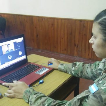 Inicio de las clases de Instrucción Militar – Modalidad Virtual